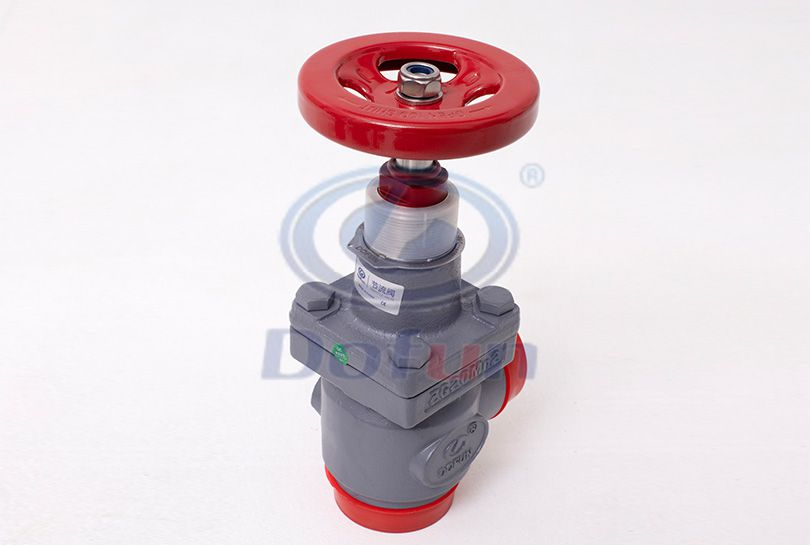 TVD-A Welding Right-Angle Stop and Control Valve