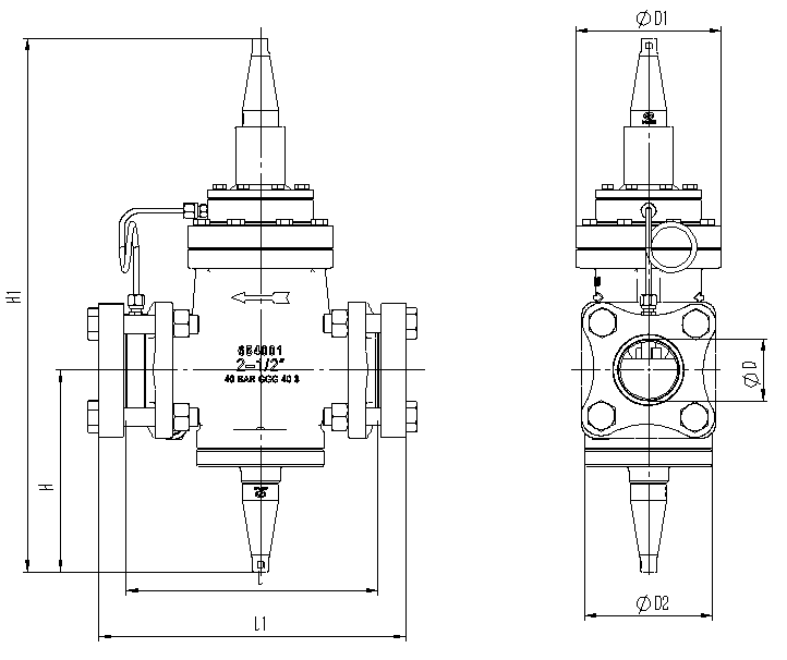 IPRV Series Outlet Pressure Regulator