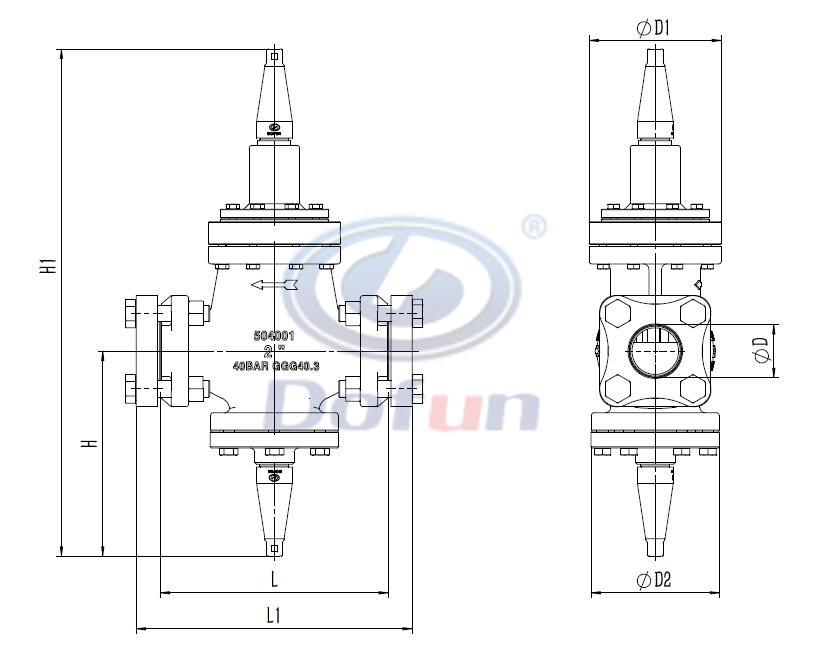 IPRV Series Inlet Pressure Regulator